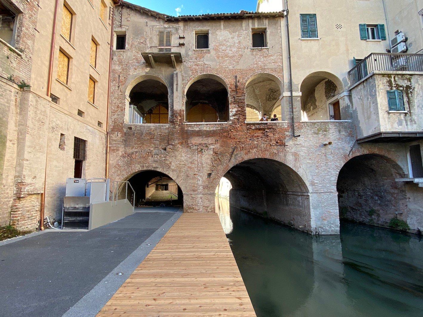 Pescherie di Giulio Romano a Mantova dopo il restauro