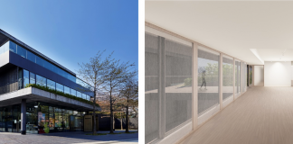 Pace Gallery Seoul. Left to right Photo by Sangtae Kim renderings provided by Mass Studies