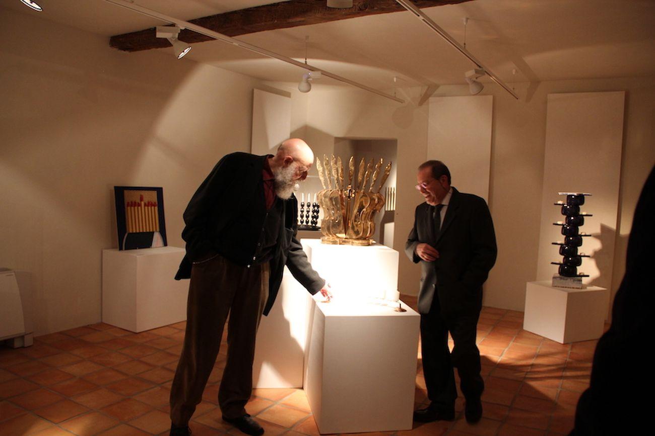 Riflessioni. Exhibition view at Museo della Ceramica, Mondovì 2021