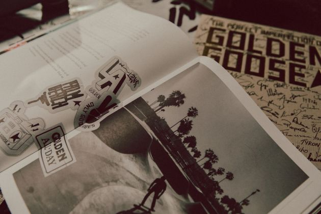 The perfect imperfection of Golden Goose (Rizzoli, Milano 2021) _flipping