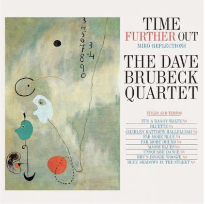 The Dave Brubeck Quartet,Time Further Out - cover Joan Miró