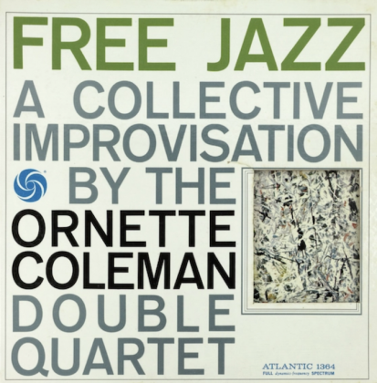 Ornette Coleman, Free Jazz - cover Jackson Pollock