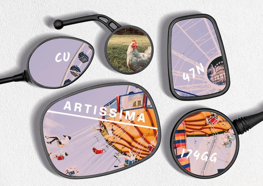 Artissima 2021 visual identity by FIONDA