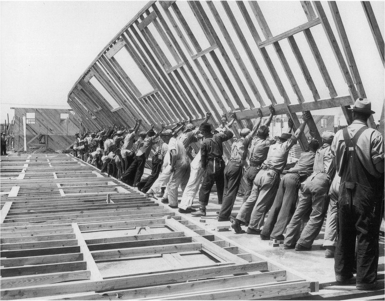 Al Palmer, War housing in Erie, Pennsylvania, 1941. Courtesy Library of Congress