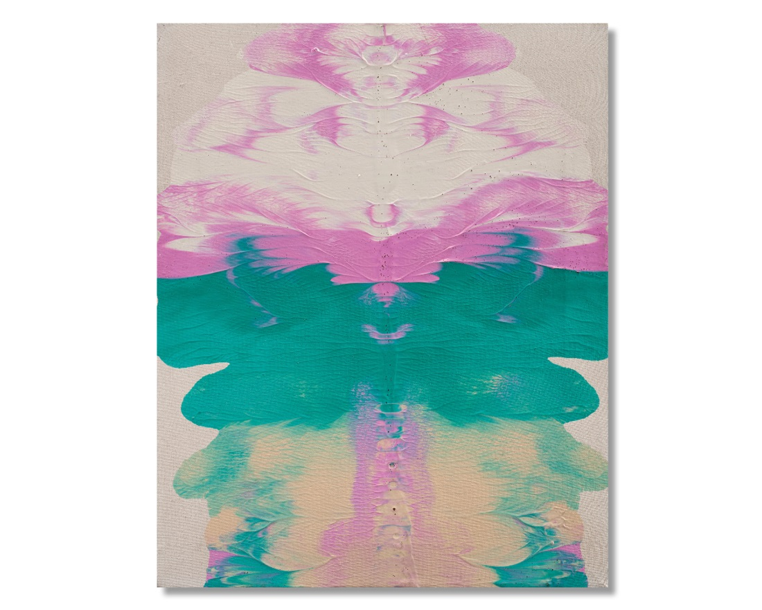 Andy Warhol Rorschach Painting (1980 circa) Courtesy of Il Ponte