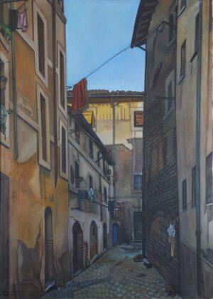 Benvenuto Ferrazzi, Via del Ricovero, 1935. Photo Laura Moreschini
