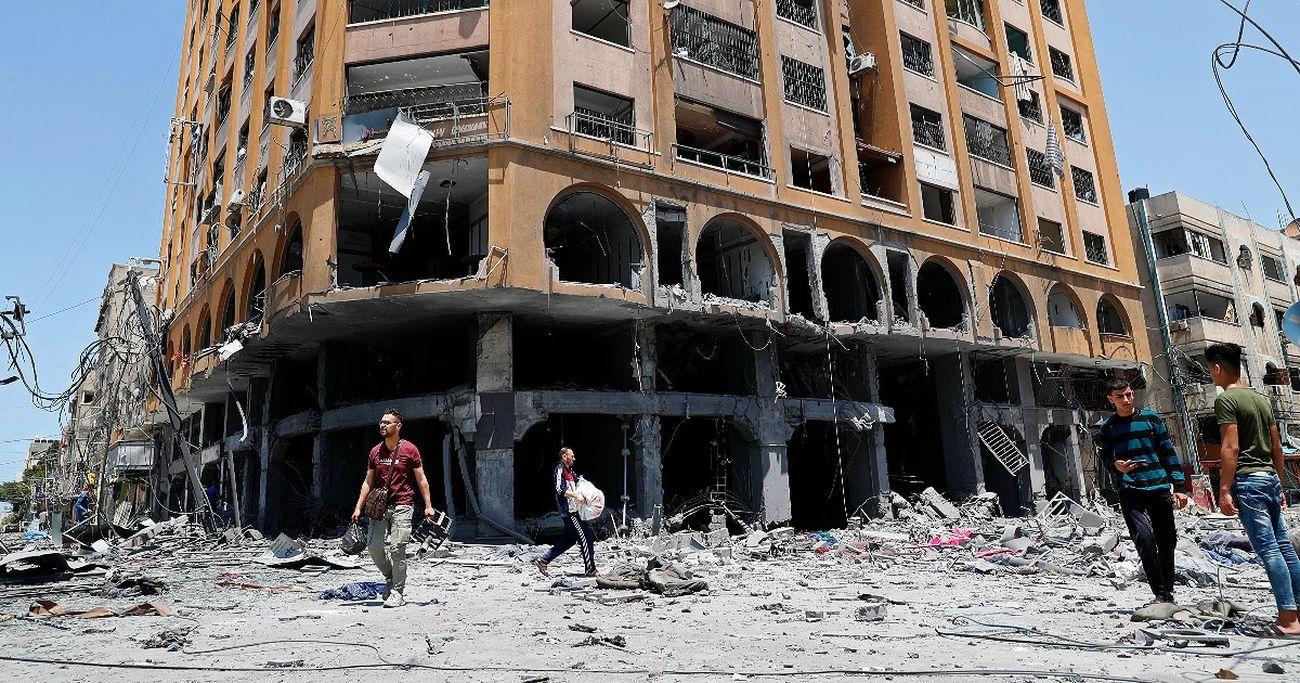 Bombardamenti a Gaza, 2021