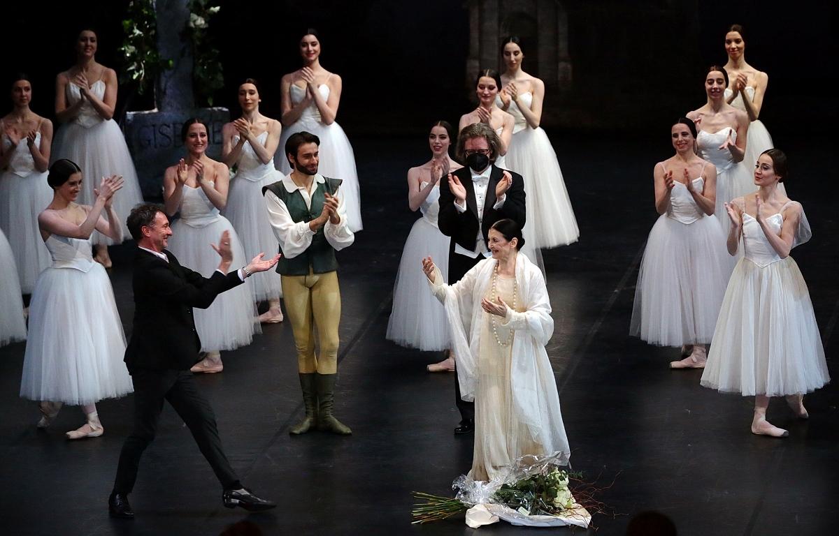 Carla Fracci al Teatro Alla Scala di Milano, courtesy Teatro Alla Scala di Milano