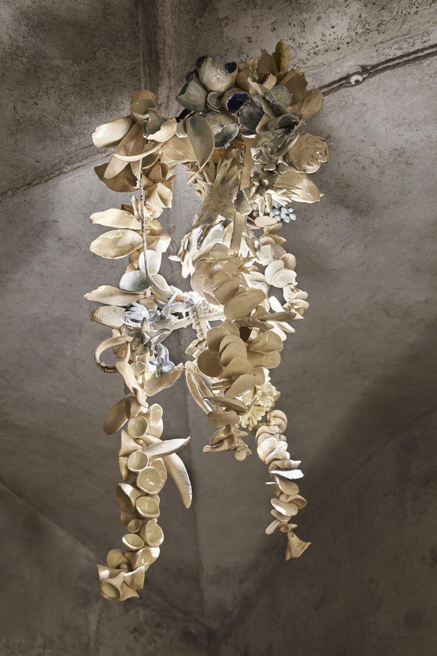 Chiara Camoni, Ipogea, 2021. Courtesy l'artista & Palazzo Bentivoglio, Bologna. Photo © Camilla Maria Santini