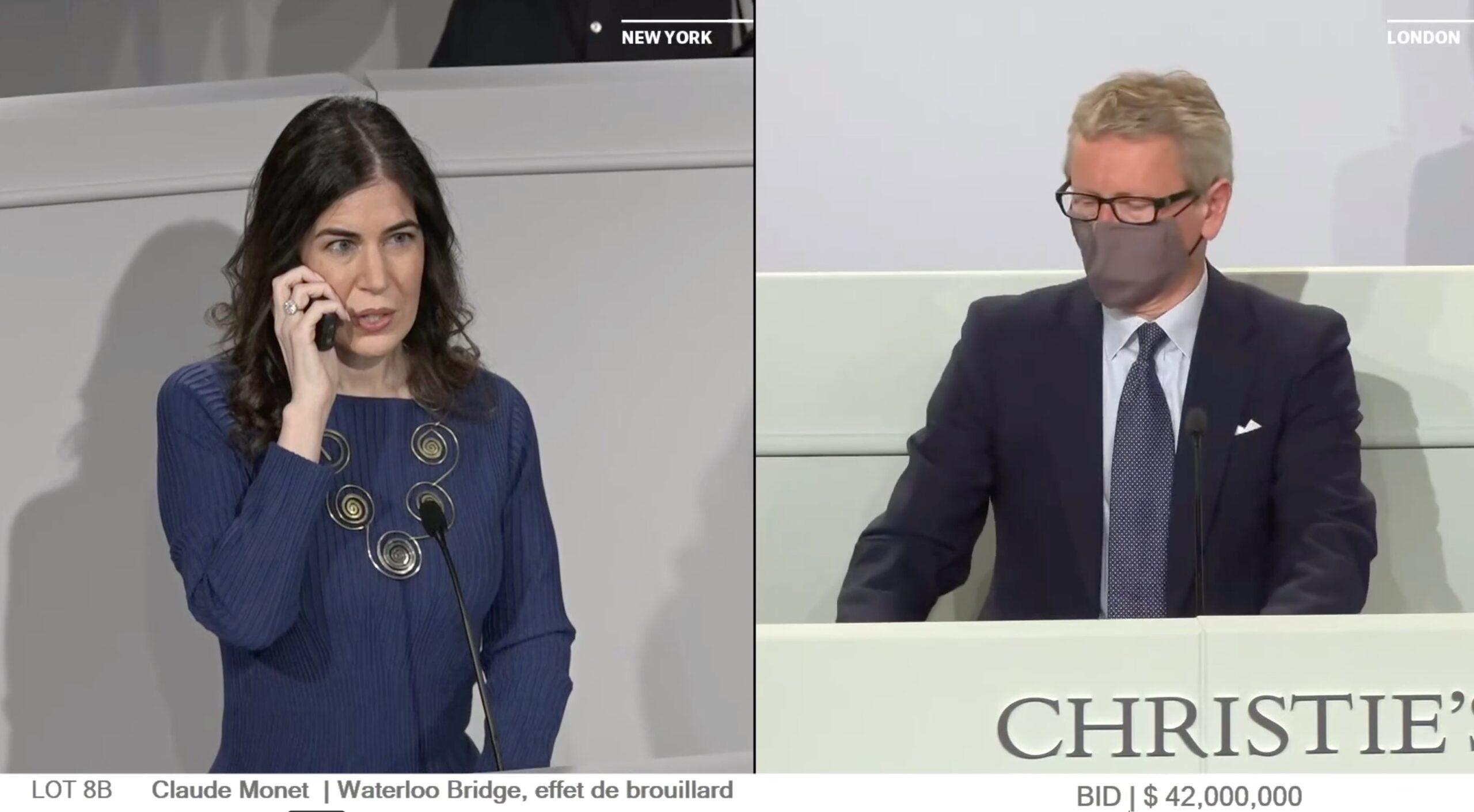 Christie's, Monet venduto per 42 milioni di dollari