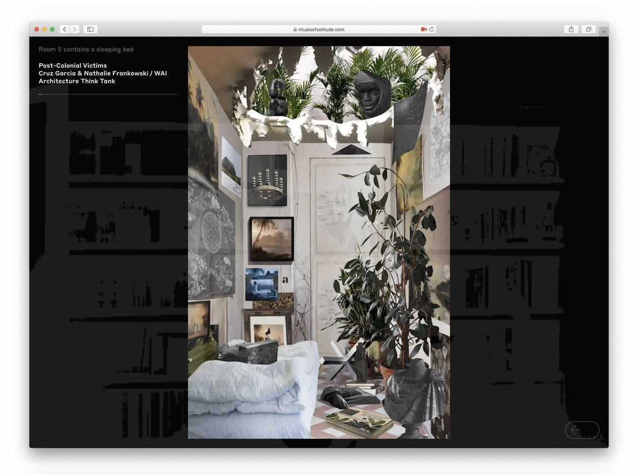Cruz Garcia & Nathalie Frankowski – WAI Architecture Think Tank, Post Colonial Victims, 2020, video © Unfolding Pavilion – WAI Architecture Think Tank