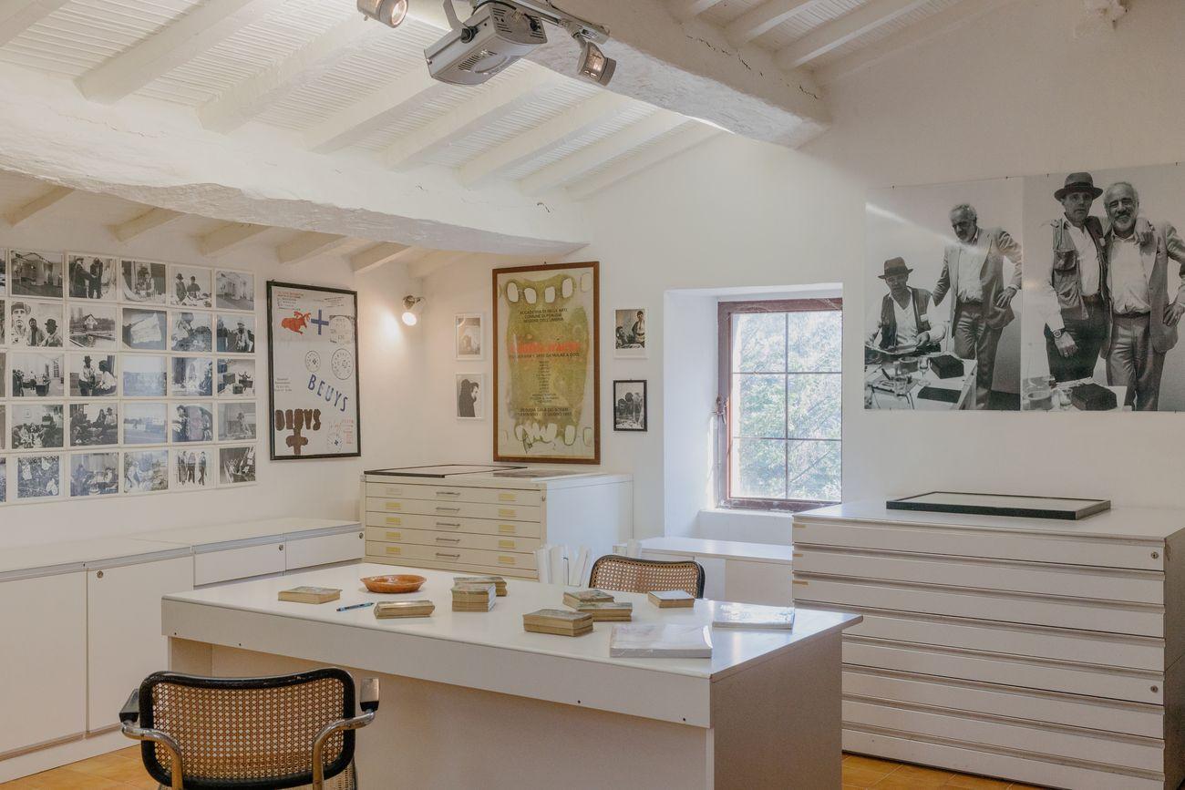 Lo studio di Joseph Beuys a Bolognano, Pescara