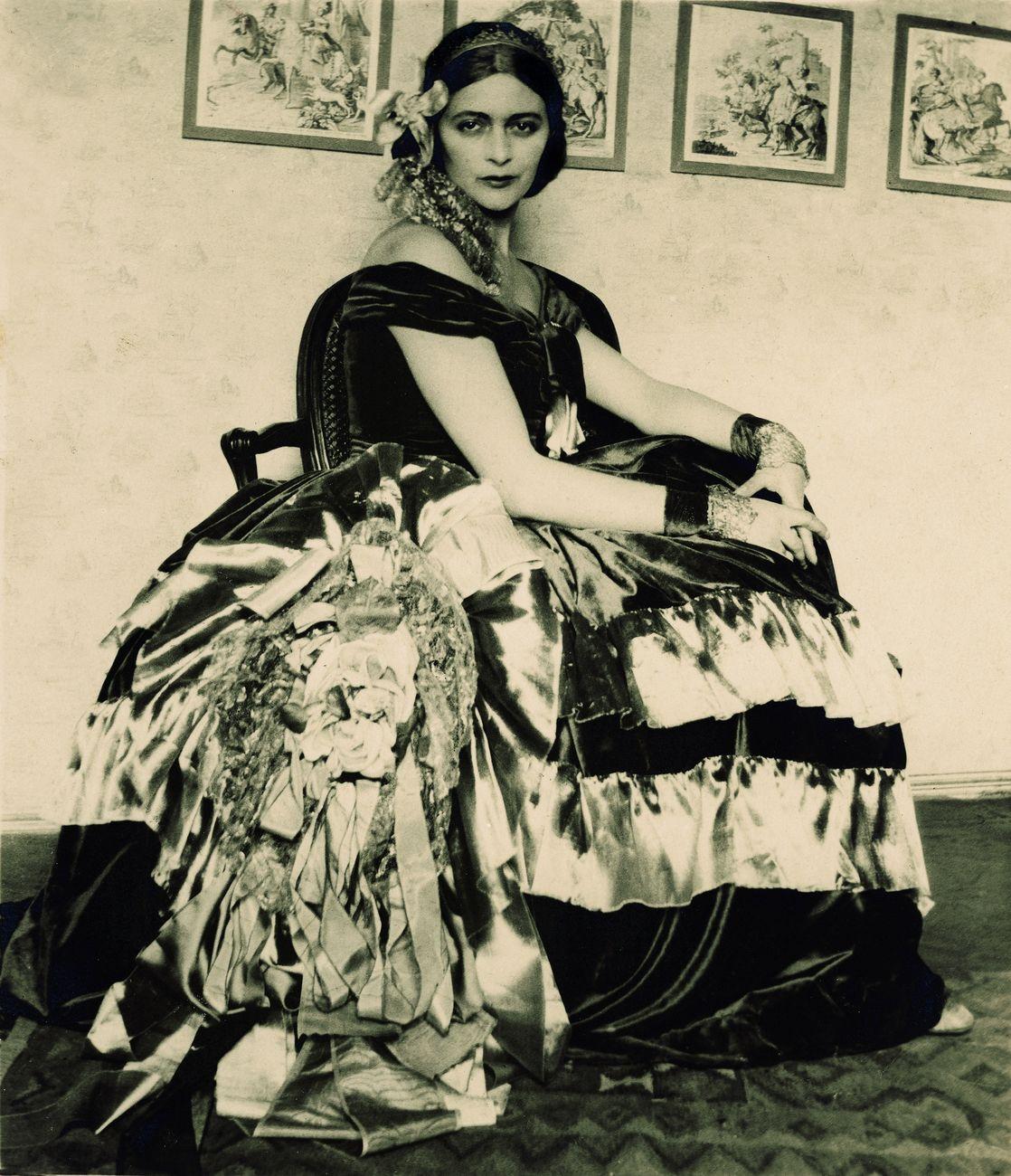 Edina Altara negli anni '20 fotografata dal marito Vittorio Accornero