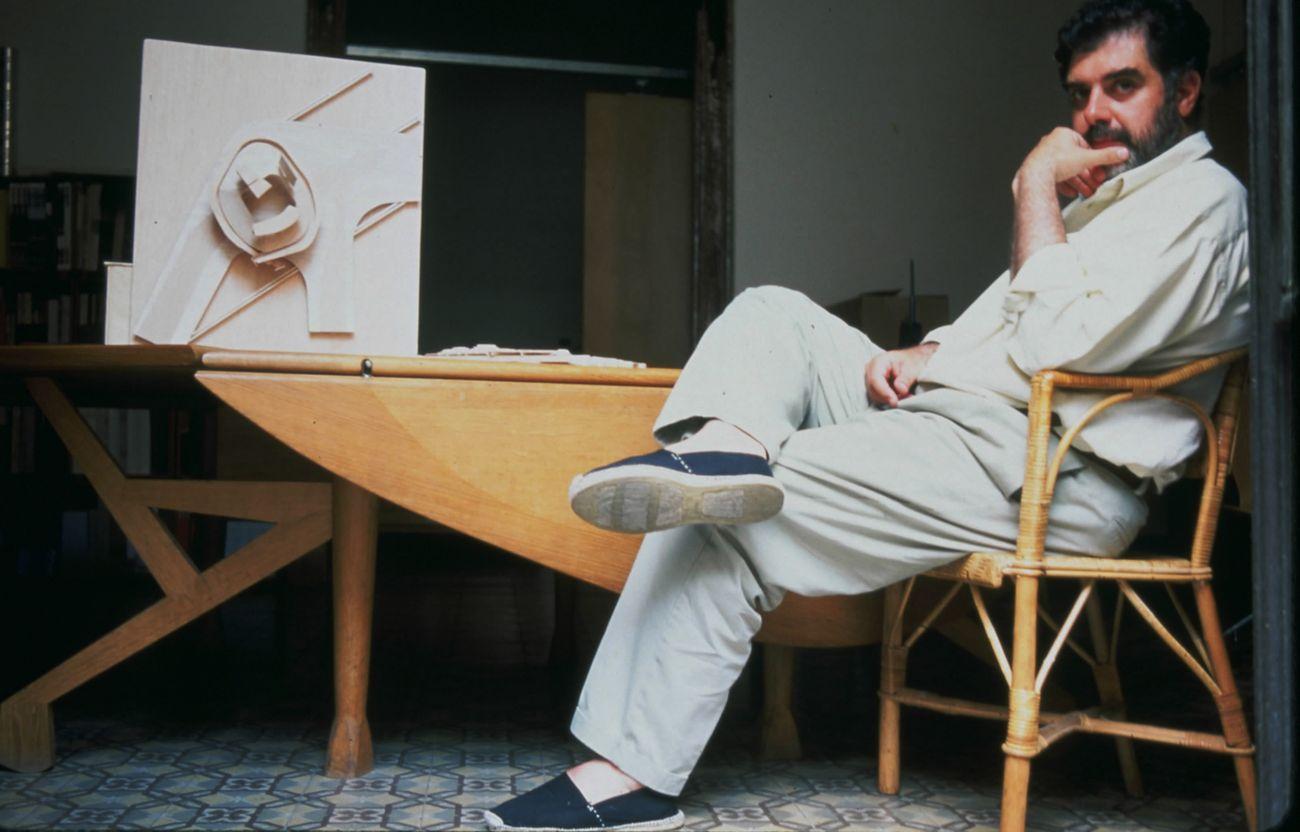 Enric Miralles. Photo Maro Kouri