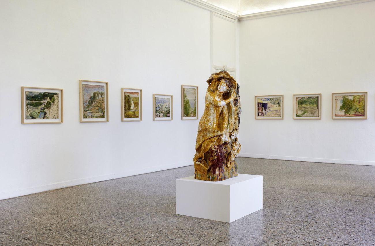 Fausto Melotti. Zoagli. Exhibition view at Galleria Christian Stein, Milano 2021. Courtesy Fondazione Fausto Melotti e Galleria Christian Stein, Milano. Photo Agostino Osio