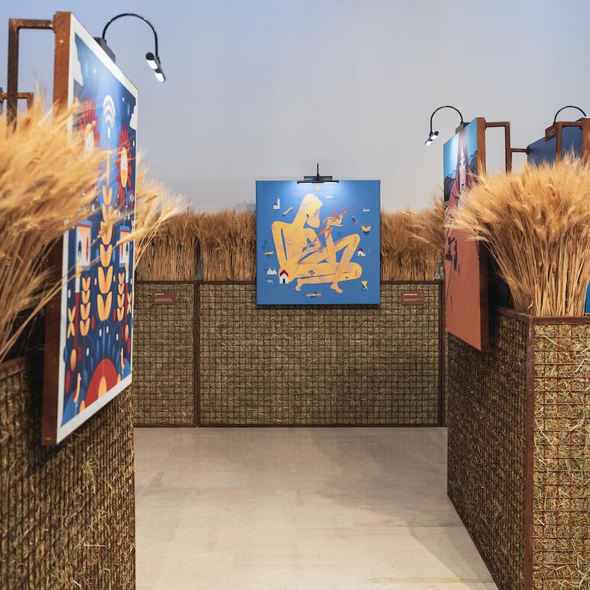 Grani D'Autore dalla semina al raccolto del grano duro Barilla, Triennale Milano