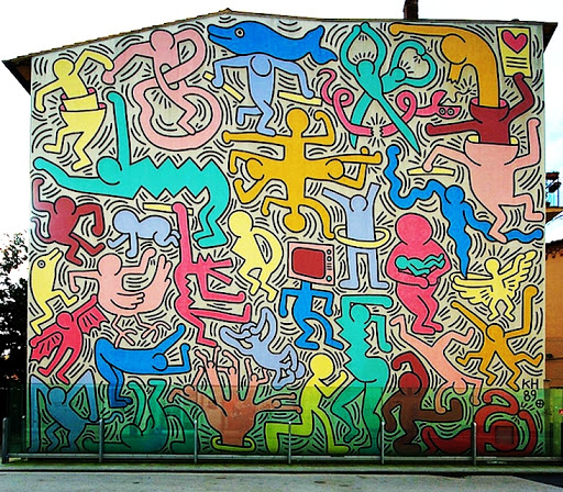 Keith Haring, Tuttomondo, 1990