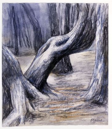 Henry Moore, Tree Trunks I, 1982. Photo Henry Moore Archive