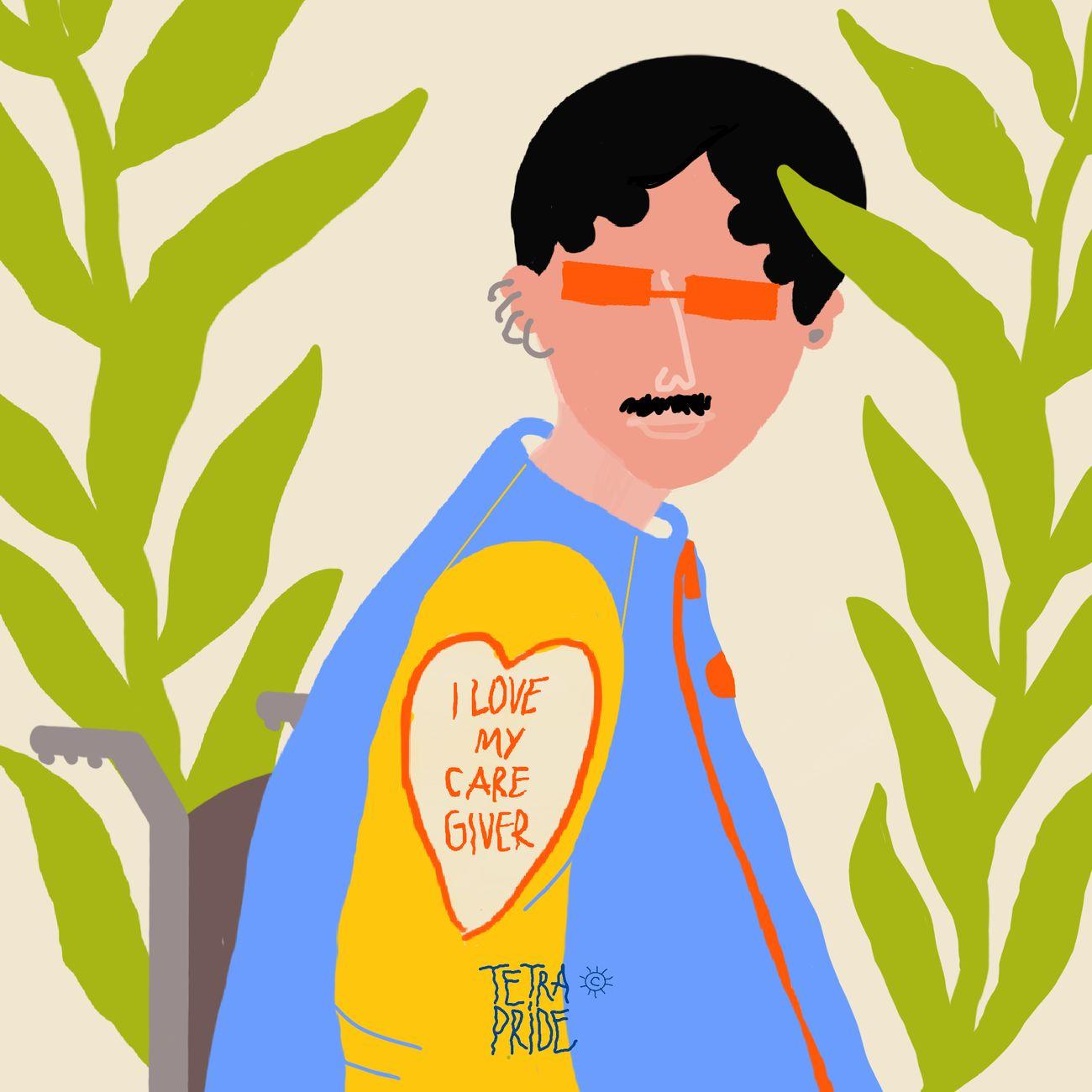 I love my Caregiver by Cecilia Sammarco
