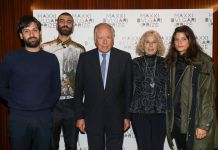 Renato Leotta, Tomaso De Luca, Nicola Bulgari, Giovanna Melandri and Giulia Cecnci The Maxxi Bulgari Prize on October 01, 2019 in London, England. (Photo by Tristan Fewings/Getty Images for Maxxi)