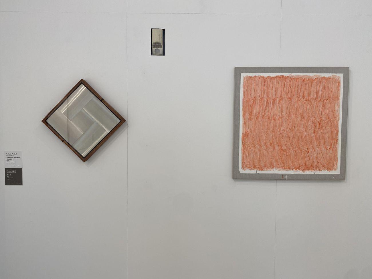 Make it new! Tomas Rajlich e l'arte astratta in Italia. Exhibition view at Museo d'Arte Contemporanea di Villa Croce, Genova 2021