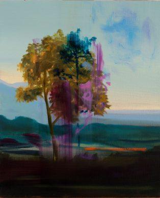 Olivier Masmonteil Sans Titre 2020. Huile sur toile 55 x 46 cm 314x388