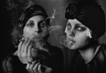 PETER LINDBERGH Sabisha Friedberg & Jessica Stam, Paris 2007, courtesy of Peter Lindbergh Foundation, Paris