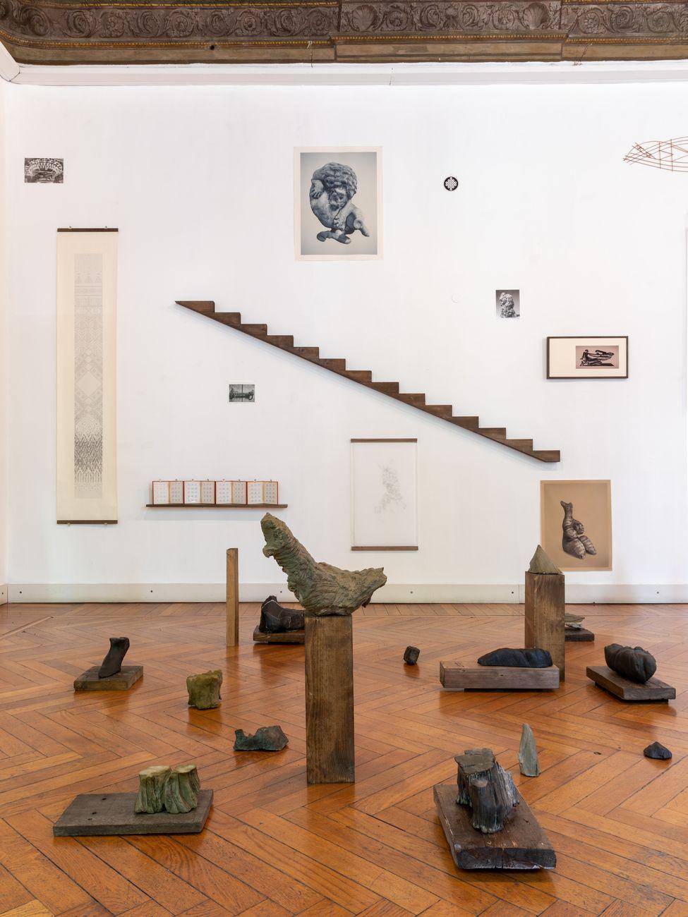 Riccardo Arena. Hyphae. Exhibition view at Galleria Milano, Milano 2021. Photo Roberto Marossi