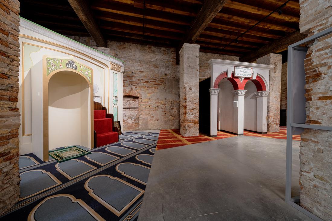 Shahled Saleem Regno Unito e moschee alla Biennale Architettura 2021