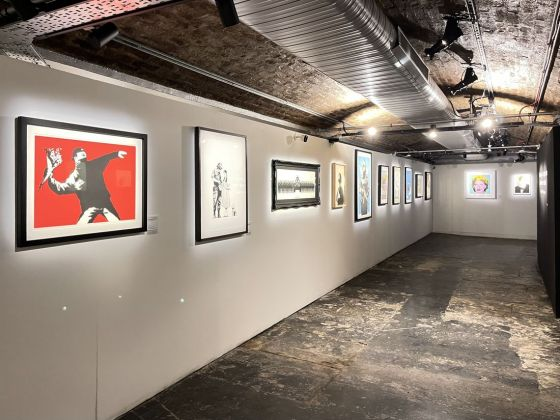 The Art of Banksy, Londra, installation view