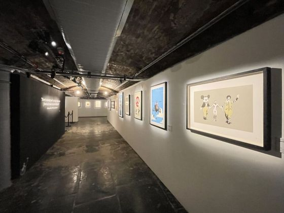 The art of Banksy, Londra, exhibition view
