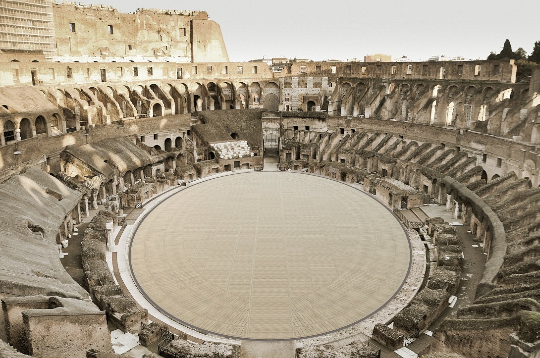 Vista dall'ALTO, Arena del Colosseo