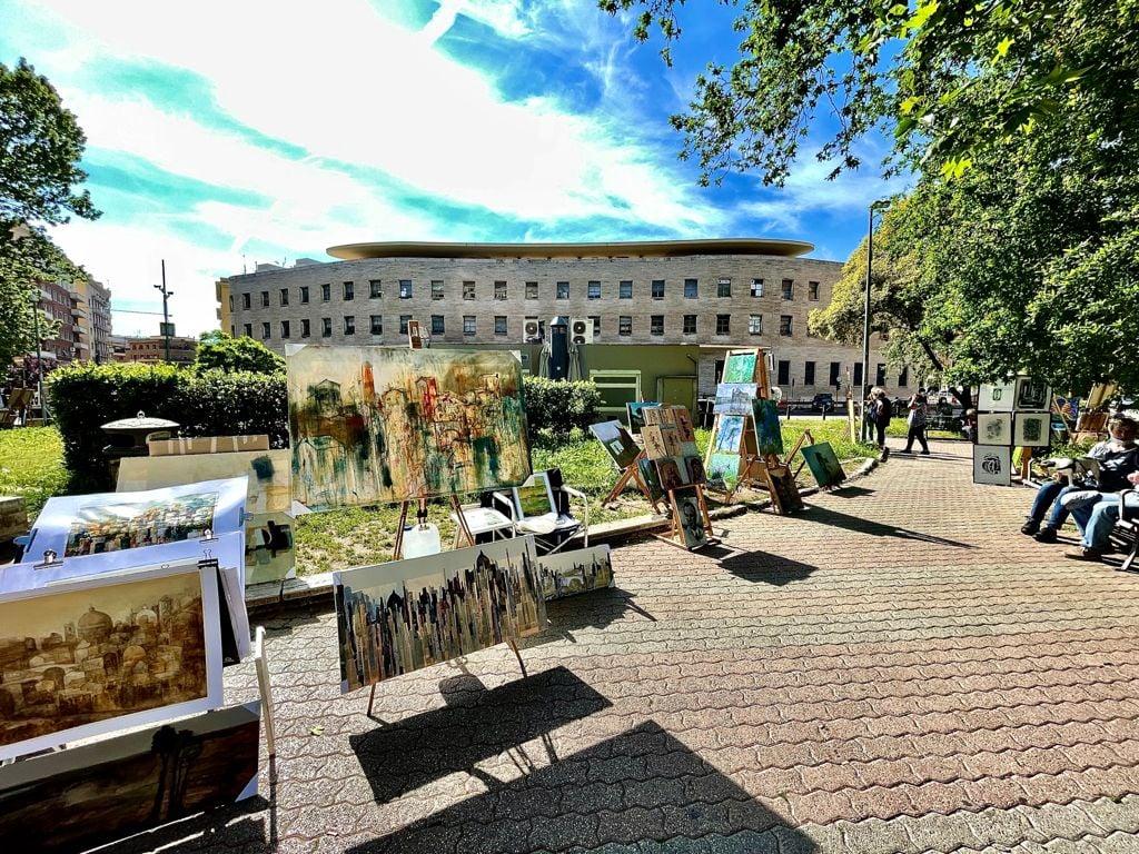 Roma: le mostre d'arte nelle piazze del Secondo Municipio