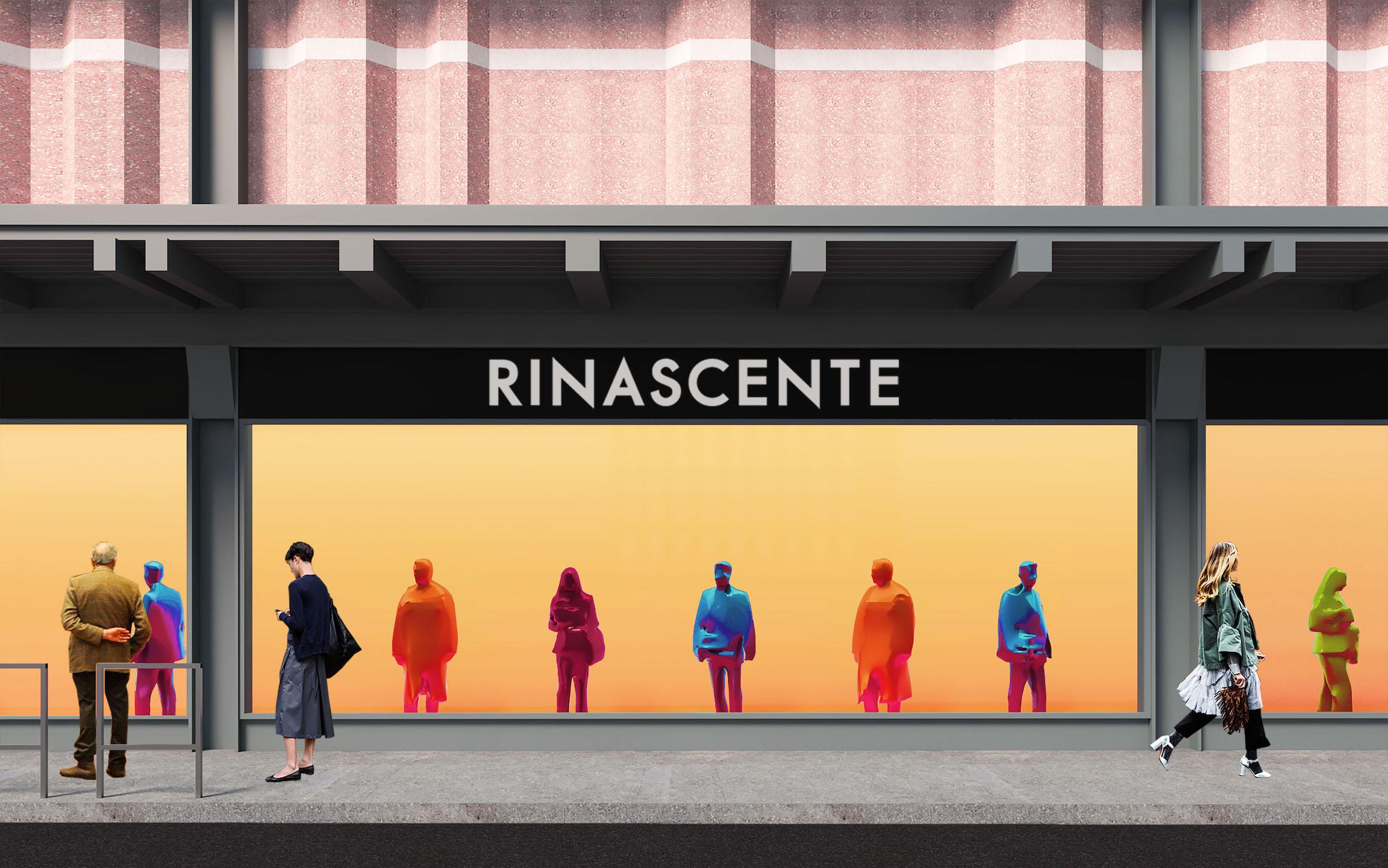 Rinascente Piazza Fiume, Roma - prospetto delle vetrine lungo la via Salaria_stato di progetto © image courtesy of 2050+
