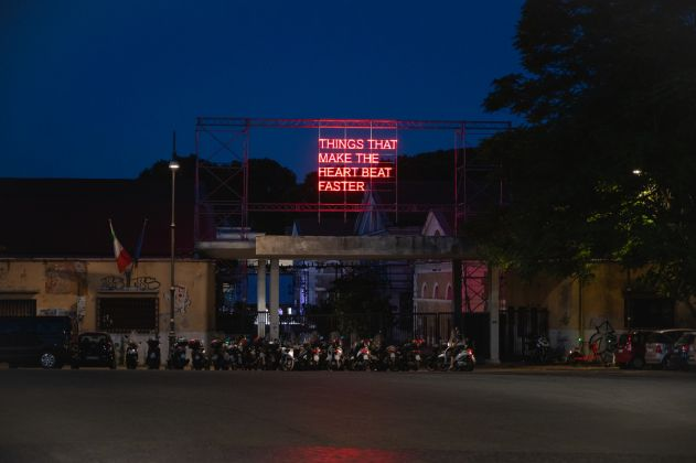 Tim Etchells, things that make the heart beat faster ph credit Andrea Pizzalis