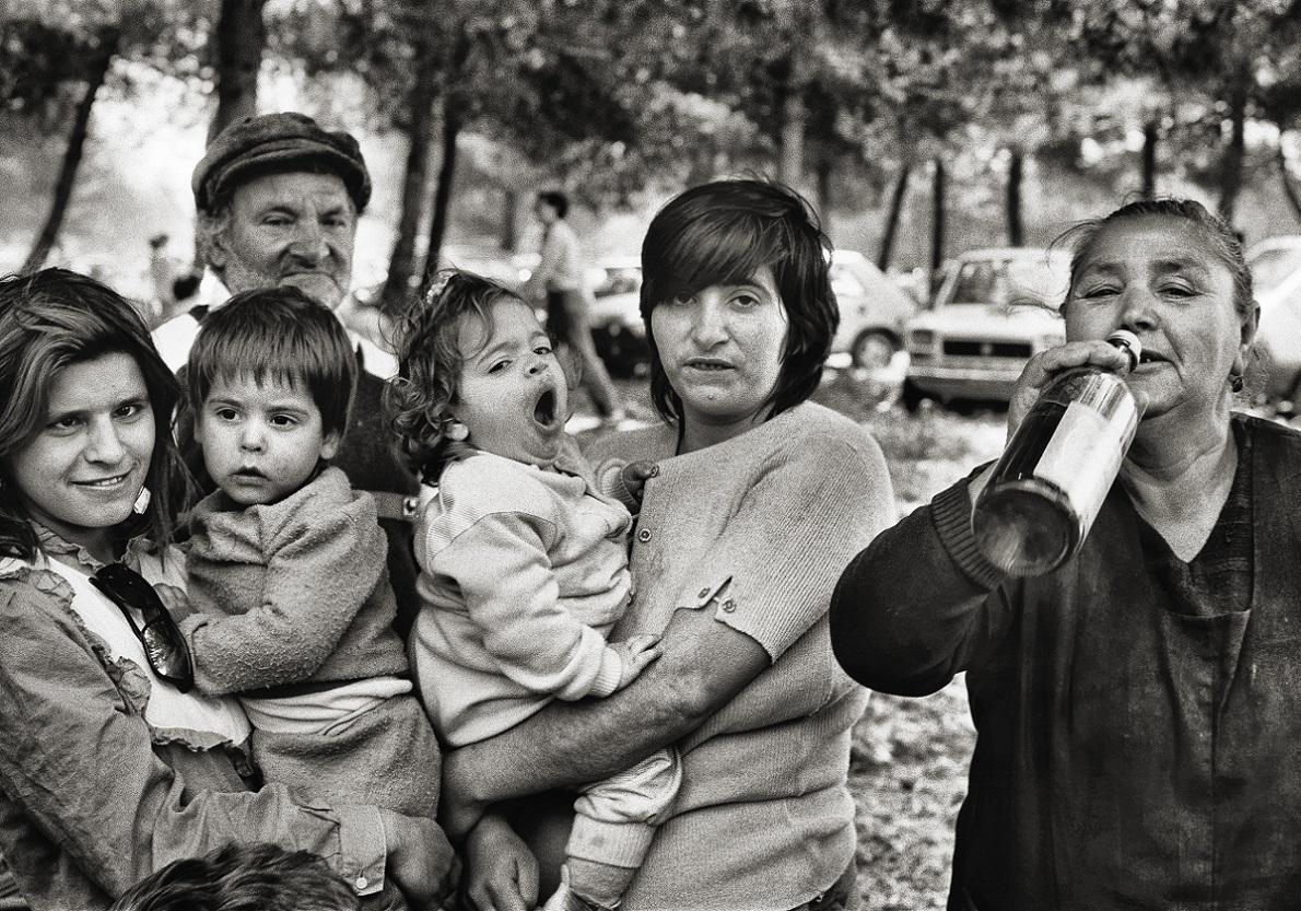 Lia Pasqualino, Generazioni, Parco della Favorita, Palermo, 1987