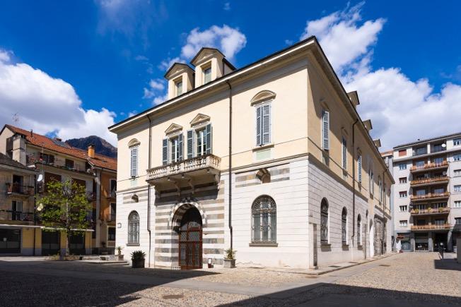 Prospetto di Palazzo San Francesco_ph Alberto Lorenzina