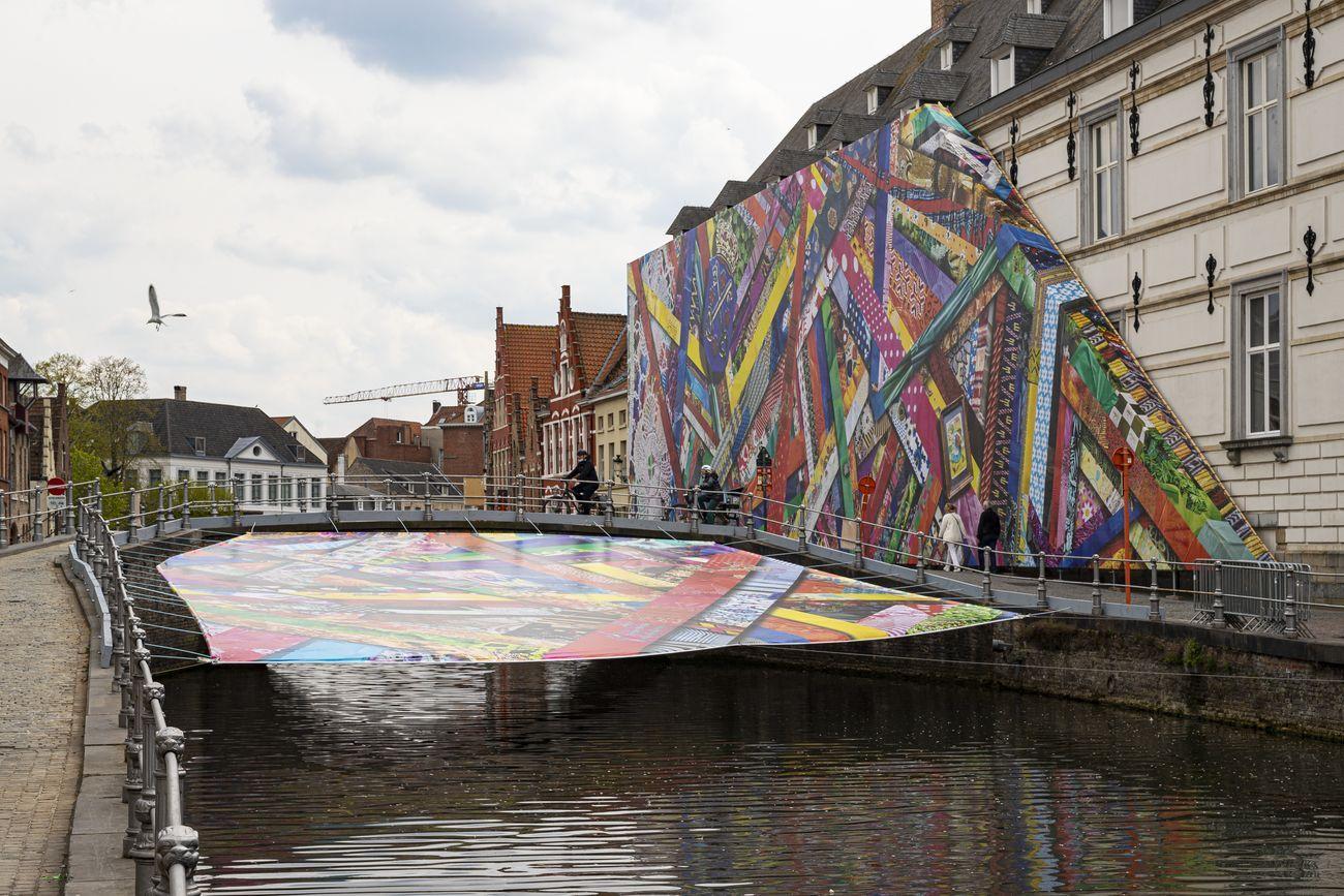 Amanda Browder, Happy Coincidences, 2021. Triennale Brugge 2021 © Stad Brugge Matthias Desmet