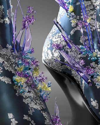 Auroboros dettaglio calzatura