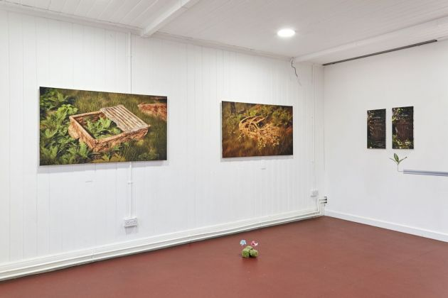 Bob Bicknell-Knight, Bit Rot. Exhibition view at Broadway Gallery, Letchworth 2020. Courtesy l'artista