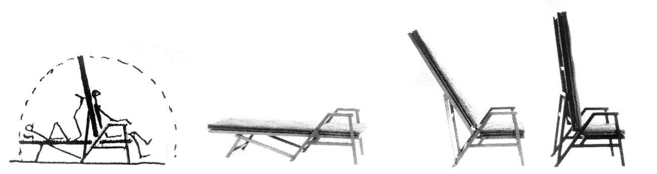 Carlo Melograni ‒ Progettare per chi va in tram. Il mestiere dell'architetto (Quodlibet, Macerata 2020). Achille Castiglioni, sedia letto Polet