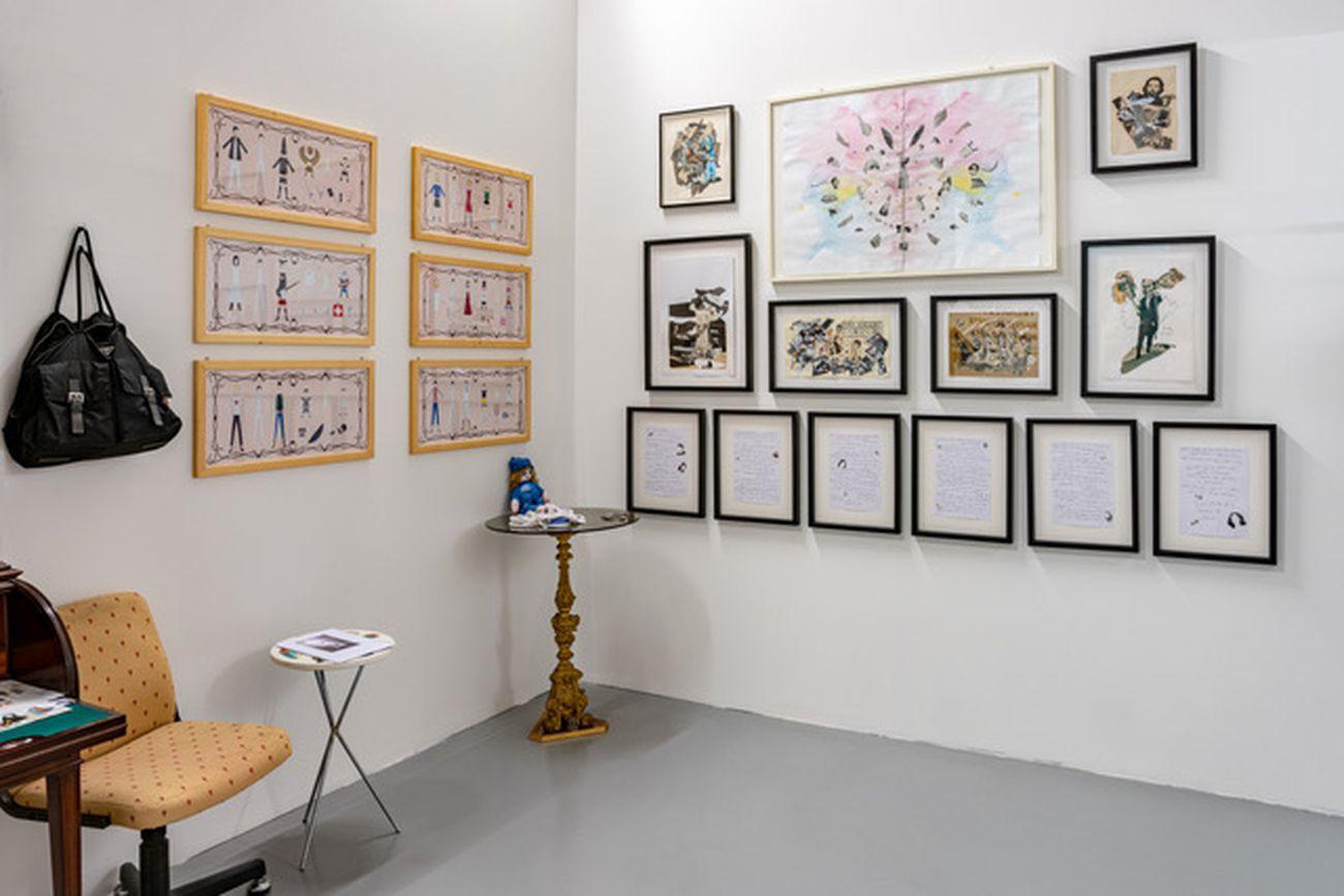 Chiara Fumai,Casa Museo, 2011 17 (dettaglio). Installation view atCentro per l'arte contemporanea Luigi Pecci, Prato 2021. Photo©Ela Bialkowska OKNO Studio