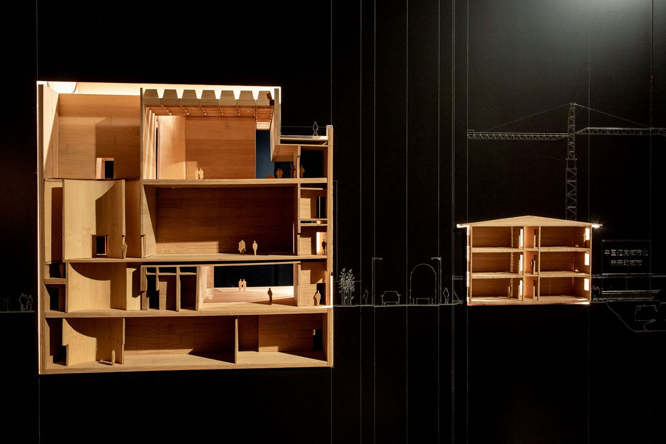 China Goes Urban. Exhibition view at MAO - Museo d'Arte Orientale, Torino 2021. Photo © Samuele Pellecchia