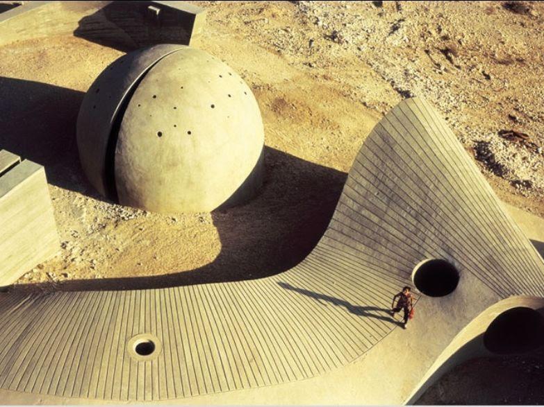Dani Karavan, Monumento a Be'er Sheva