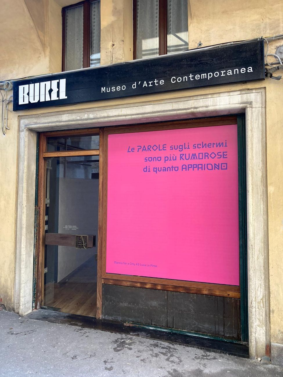 Daniela Zangrando. Mantra for a City. Installation view at Museo Burel, Belluno 2021