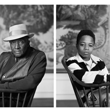Dawoud Bey, Fred Stewart II and Tyler Collins, dalla serie The Birmingham Project, 2012 © Dawoud Bey. Courtesy Rena Bransten Gallery, San Francisco & Rennie Collection, Vancouver