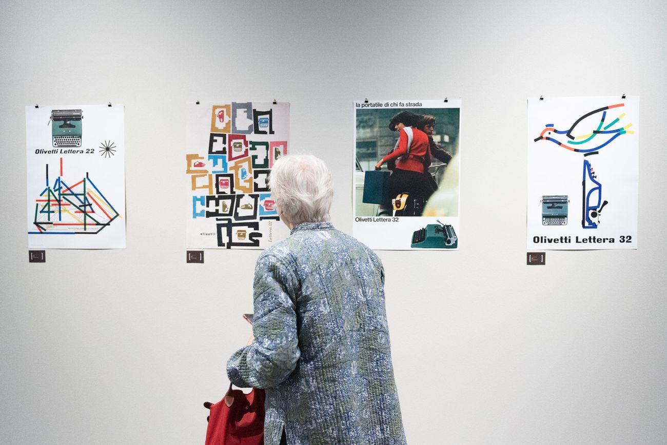 Design e cultura secondo il pensiero di Olivetti. Museo e Auditorium Santa Caterina, Treviso 2021. Photo Claudia Rolando