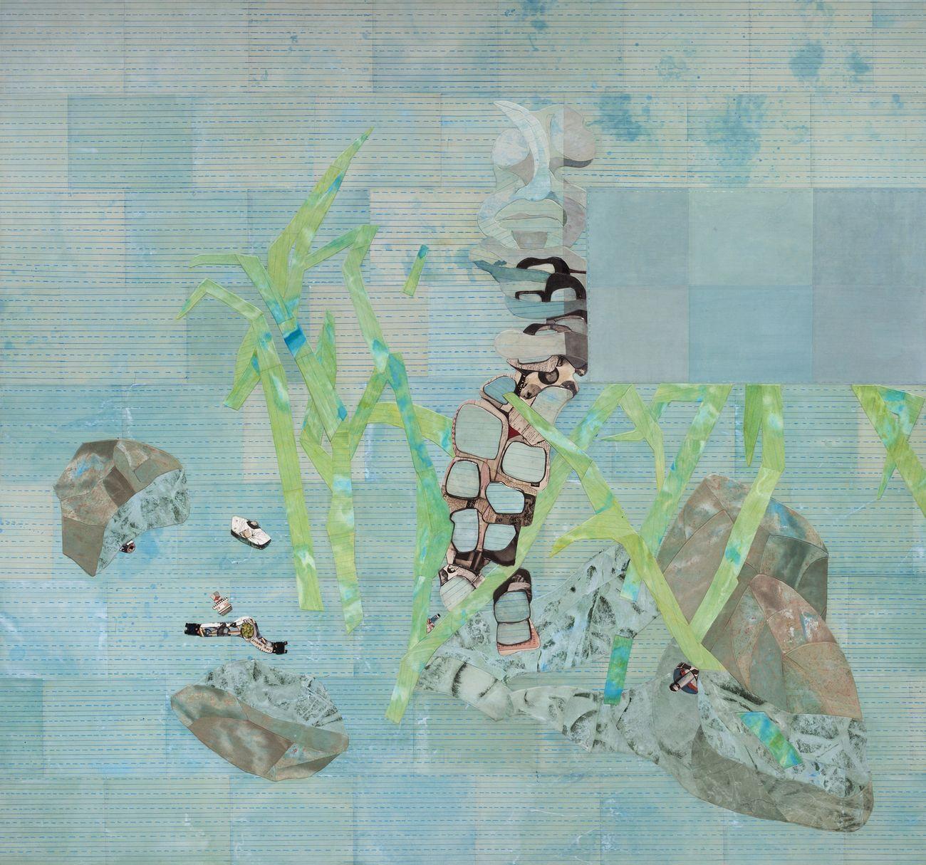Ellen Gallagher, Dew Breaker, 2015. Collezione privata. Courtesy the artist & Hauser & Wirth