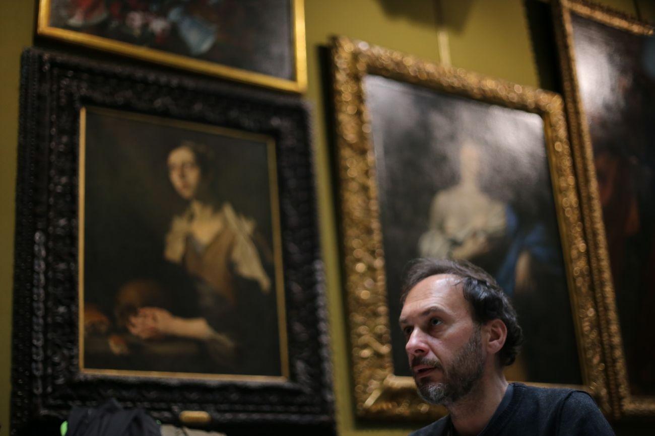 Francesco Saponaro regista de 'Il Lucernario' © Enzo Riccio