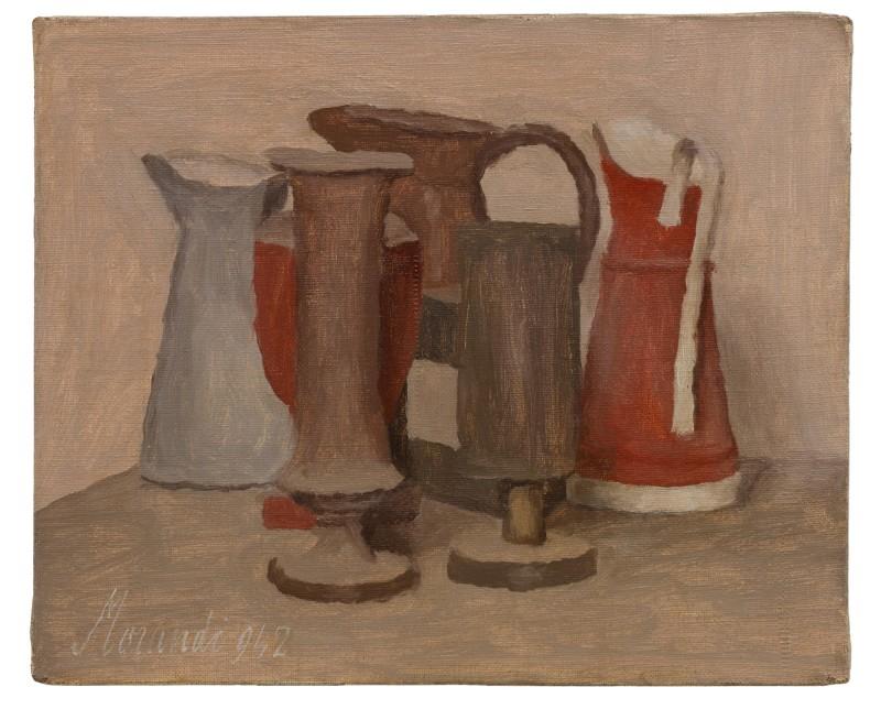 Giorgio Morandi, Natura morta (1942) Courtesy of Sotheby's